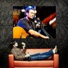 Blake Shelton Guitar Live Country Music Huge 47x35 Print POSTER