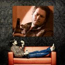 Blake Shelton Beer Country Music Huge 47x35 Print POSTER