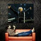 Jon Bon Jovi Live Hard Rock Music Huge 47x35 Print POSTER
