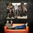All That Remains Metalcore Rock Music Huge 47x35 Print POSTER