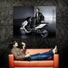BMW Concept C Bike Motorcycle Huge 47x35 Print POSTER