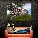 KTM EXC 200 Offroad Bike Motorcycle Huge 47x35 Print POSTER