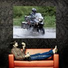 Bmw R1200 Gs Water Offroad Bike Huge 47x35 Print Poster