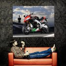 Aprilia RSV4 Super Sport Bike Motorcycle Huge 47x35 Print POSTER