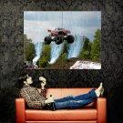 Bad Habit Jump Monster Truck Bigfoot Huge 47x35 Print POSTER