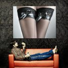 Hot Legs Close Up Sexy Stocking Huge 47x35 Print POSTER