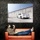 Nissan Skyline White GTR R35 Huge 47x35 Print POSTER