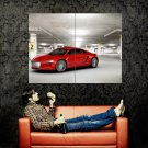 Audi E Tron Red Future Concept Car Huge 47x35 Print Poster