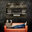 Cadillac Eldorado Black Retro Car Huge 47x35 Print POSTER