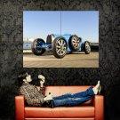 Bugatti Type 35 192430 Retro Car Huge 47x35 Print POSTER