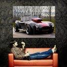 Black Sport Roadster Convertible Retro Huge 47x35 Print POSTER