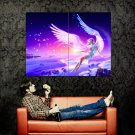 Angel Girl Snow Fairy Magic Fantasy Art Huge 47x35 Print POSTER