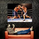 Boxing Punch Splashes Fight Sport Huge 47x35 Print POSTER