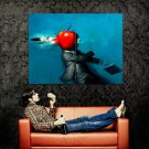 Appleshot Weird Bullet Weapon Huge 47x35 Print Poster