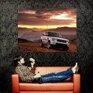 Range Rover White Canyon Car Auto Huge 47x35 Print POSTER