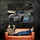Nissan Skyline Neon Tuning Car Auto Huge 47x35 Print POSTER
