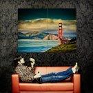 Golden Gate Bridge San Fransisco Huge 47x35 Print Poster