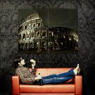 COLISEUM Night Lights Rome Italy Huge 47x35 Print Poster