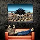 Bombs Rockets Armory Aircraft Huge 47x35 Print Poster