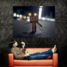 ALONE Amazon Robot Abstraction Huge 47x35 Print Poster