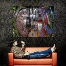 The Large Hadron Collider Hi Tech Huge 47x35 Print Poster