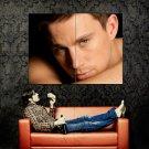 Channing Tatum Hot Portrait Actor Huge 47x35 Print Poster