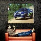 Colin Mcrae Subaru Rally Cars Huge 47x35 Print Poster