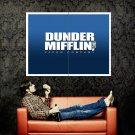 Dunder Mifflin Inc Office Tv Cool Huge 47x35 Print Poster