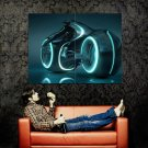 Light Cycle TRON Legacy Grid Movie Huge 47x35 Print Poster