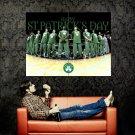 Boston Celtics St Patrick S Day NBA Huge 47x35 Print Poster