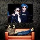 John Lennon Yoko Ono New Music Huge 47x35 Print Poster