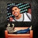Chris Brown New Music Huge 47x35 Print Poster