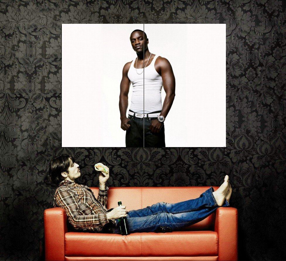 Akon Hot Music New Huge 47x35 Print Poster