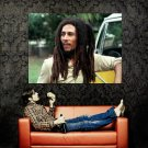 Bob Marley Reggae Dreadlocks Music Huge 47x35 Print Poster