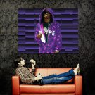 Lil Wayne Purple Rap Hot Music New Huge 47x35 Print Poster