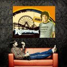 Adventureland James Movie Art Print Huge 47x35 POSTER