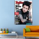 Billie Joe Armstrong Green Day Rock Band MusicHuge 47x35 Print POSTER