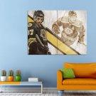 Patrice Bergeron Cleary Hockey Sport Boston Bruins Huge 47x35 Print POSTER