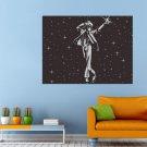 Dancer Music Singer Micheal Jackson Funk Soul Huge 47x35 Print POSTER