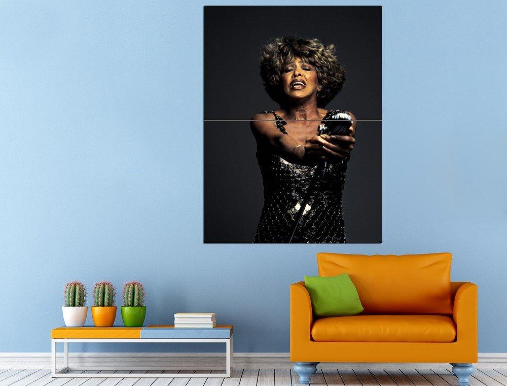 Actress Singer Music Soul Funk Tina Turner Huge 47x35 Print POSTER