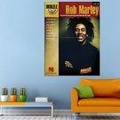 Bob Marley Music Raggae Gitarist Huge 47x35 Print POSTER