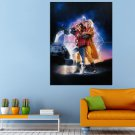 Adventure Fantasy Movie Back To The Future Huge 47x35 Print POSTER