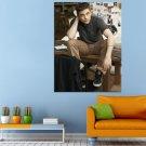 Actor Film Twilight Robert Pattinson Huge 47x35 Print POSTER