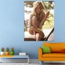Aniston Friend Actress Rachel Huge 47x35 Print POSTER