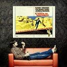 North By Northwest Hitchcock Movie Retro Huge 47x35 Print Poster