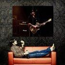 Motorhead Lemmy Wurzel Hard Rock Music Band Huge 47x35 Print Poster