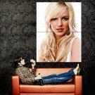 Britney Spears Amazing Potrrait Pop Music Huge 47x35 Print Poster