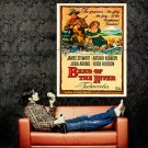 Bend Of The River Movie Vintage Retro Huge 47x35 Print Poster