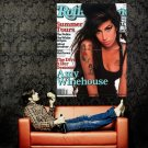 Amy Winehouse Singer Music Rolling Stone Huge 47x35 Print Poster