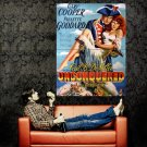 Unconquered Gary Cooper Movie Art Vintage Huge 47x35 Print Poster